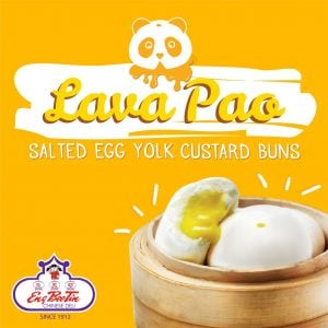 Frozen Salted Egg Custard Lava Pao (by 8)-- to steam
